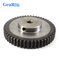 Gear Wheel Metal 1.5Module 65T 45Steel Rc Pinion Gears 10/12mm Bore 1.5 Mould 65Tooth Gear Wheel Spur Gear Pinion