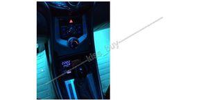 Image 4 - Voltmètre de LED numérique 3IN1 + thermomètre + horloge DC 12 v voiture allume cigare prise moniteur tension automatique compteur de température de temps