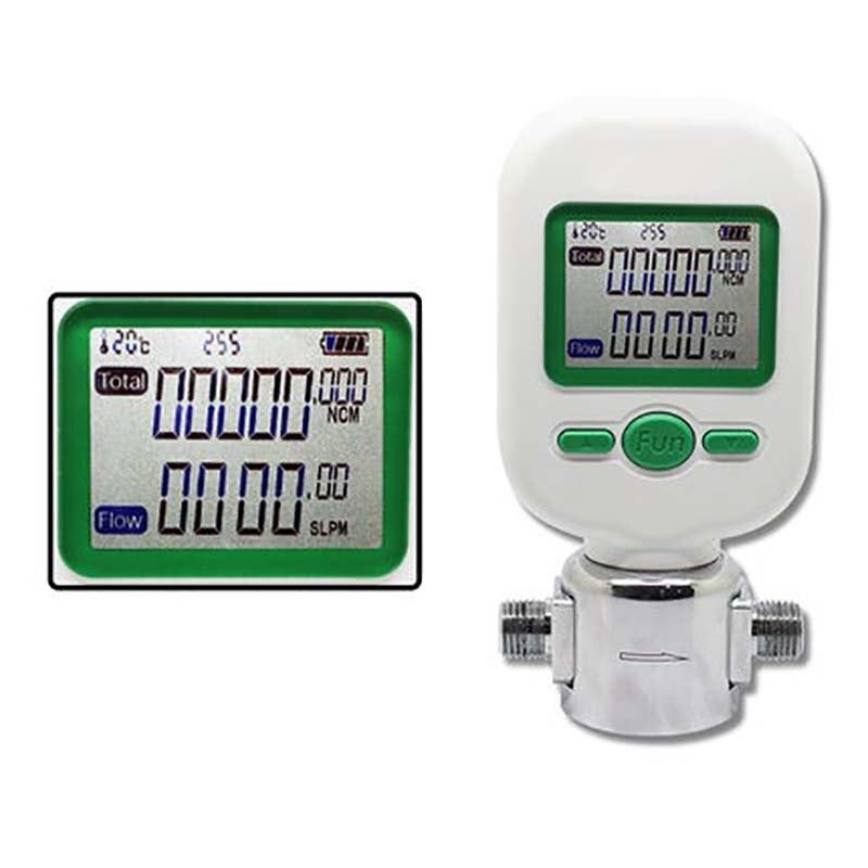 0-10L/min Digital Medidor de massa de Ar sensor De Fluxo de gás nitrogênio MF5706