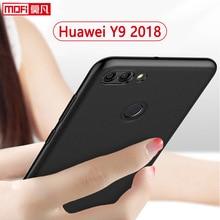 Huawei Y9 (2018) Case Huawei Y9 (2018) Back Case Silicone Ultra Thin TPU Funda Mofi Black Soft Clear 5.93