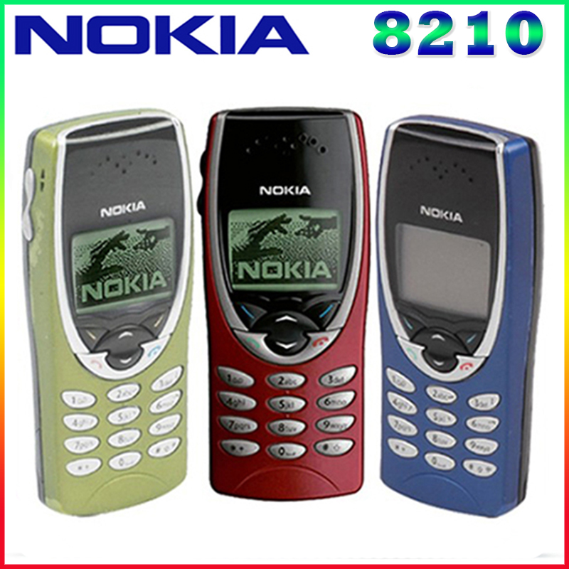 8210 original nokia 8210 abrió el teléfono móvil 2g de banda dual gsm 900/1800 g