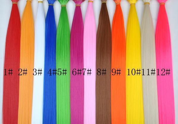 Fancy color hair extension solid color stick hair extension bright fancy color hair extension solid color stick hair extension bright color hair extensions 100strand per pack pmusecretfo Gallery