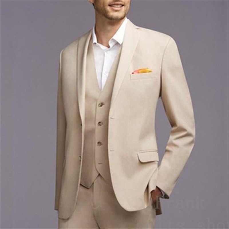 6 Colors Mens Suits Slim Fit Blazers Show Wedding Costume Jackets Pants Set Suit