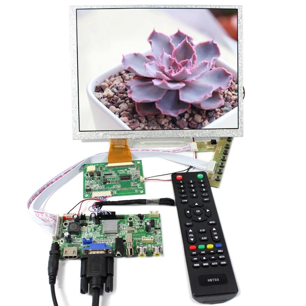 HDMI VGA AV Audio USB LCD Controller Board+10.4inch A104SN03 V1 800X600  LCD Screen 10 4inch a104sn03 800x600 4 3 tft lcd display vga av driver controller board card