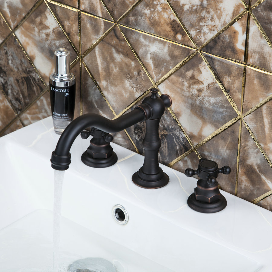 Antique Reasonable in Price Basin Faucet Oil Rubbed Single Hole Hot Cold Water Mixer Outstanding Basin Faucet allen roth brinkley handsome oil rubbed bronze metal toothbrush holder