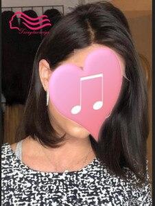 Image 1 - Tsingtaowigs frente laço kosher peruca 100% cabelo virgem europeu peruca judaica, kosher peruca melhor sheitels frete grátis