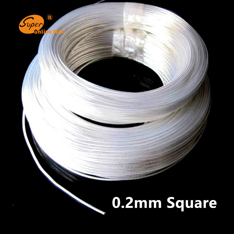 10/50/95m 24AWG Silver plated cable Teflon 0.2mm square OD 1.1mm headphone cable DIY audio cable high temperature wire free shipping 95m acrolink silver plated 6n occ signal teflon wire cable 1 0mm2 dia 1 6mm for di