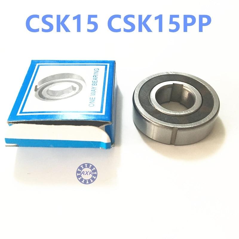Free shipping 2pcs 6202 CSK15 CSK15PP BB15 one way clutch bearing 15x35x11 printer/Washing machine/printing machinery no groove  цена и фото