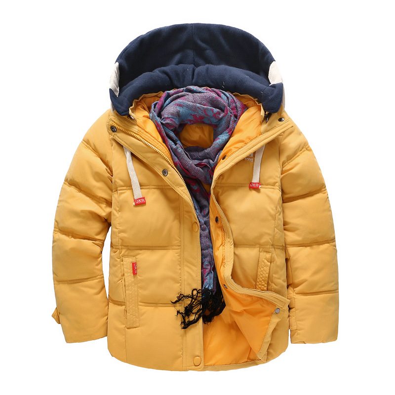 Kids Down Jackets 2018 New 100 White Duck Down Hooded