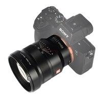 85 мм F1.8 Руководство объектив с фиксированным фокусом полный кадр для sony a7ii a7m3 a7r a9 Fujifilm xt3 xt10 xt20 xt100 xa3 xm1 беззеркальные камеры
