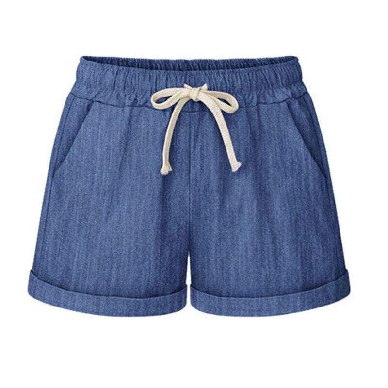 Large Size 6XL Shorts Female Cotton Short Pants Summer Womens Loose Wide Leg Shorts Thin High Waist Casual Shorts