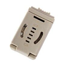 New Large Nylon Belt Loops Belt Clip For Knife Kydex Sheath/Holster, Special for DIY, W/ switch lock, Free shipping ultrafire nylon flashlight holster w belt clip black