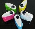 K10 Mais Novo 200 lumens projetor 3D LED Zoom Elétrica Portátil de Vídeo Pico Micro Pequeno Mini Projetor HDMI USB AV VGA TV amarelo