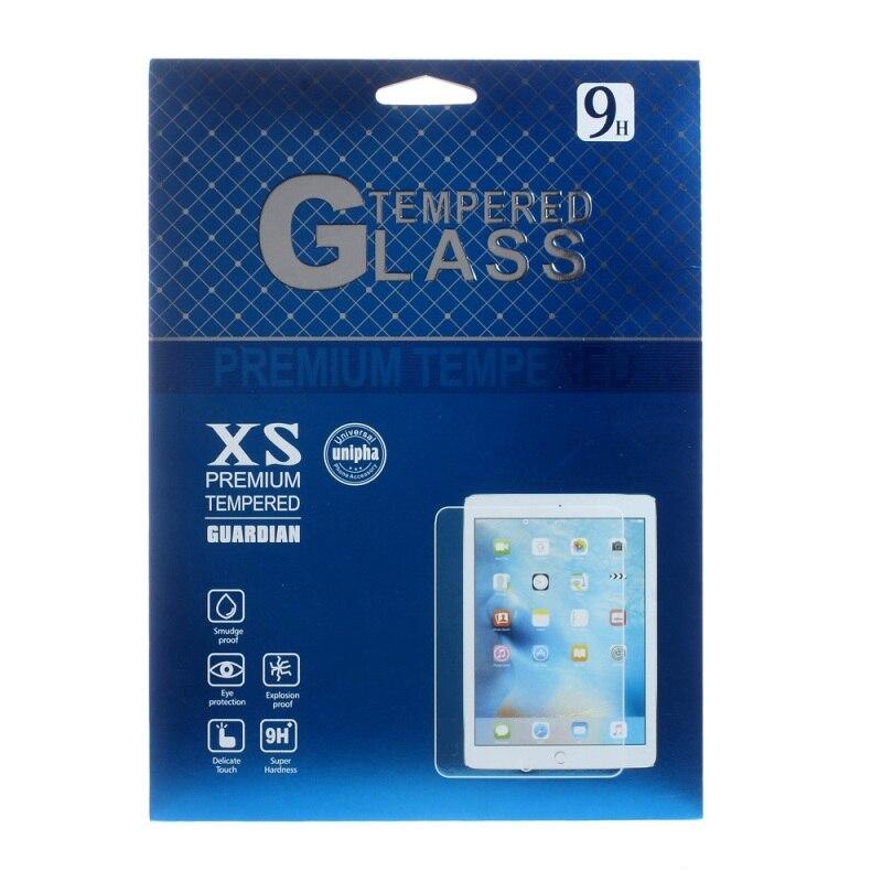 imágenes para Tabletas de Embalaje 50 Unids/set Cajas de Embalaje de Papel para el Cojín de Apple Pro 9.7 Película de Pantalla de Cristal Templado, tamaño: 255x200mm