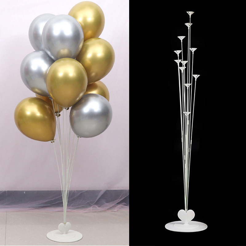 Wedding Decoration Table Balloon Stick Balloons Floating Stand Engagement Party Baloon Decor Adult Event Party Supplies