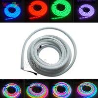 LED piksel ışık DC12V 5 m/Rulo Yüksek kalite 60led/m WS2811 flex neon dijital RGB rüya renk