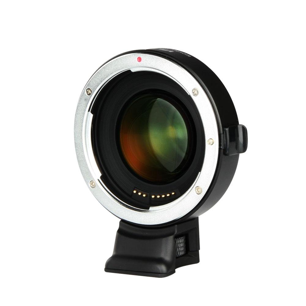 Viltrox EF-E II Mise Au Point Automatique Réducteur Vitesse Booster Adaptateur D'objectif pour Canon EF Lens pour Sony NEX E Caméra A9 A7 A7R A7SII A6500 NEX-7