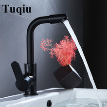 цена на Basin Faucet Gold/Rose Gold/Chrome/Black Brass Bathroom Faucet Sink tap Swivel Spout Vanity Sink faucet Mixer
