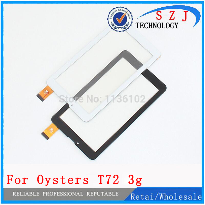 Free Film+ New 7'' inch Touch screen Digitizer For oysters T72 3g Tablet Outer Touch panel Glass Sensor replacement FreeShipping new 7 inch protective film touch screen for supra m74ag 3g tablet touch panel digitizer glass sensor replacement free shipping