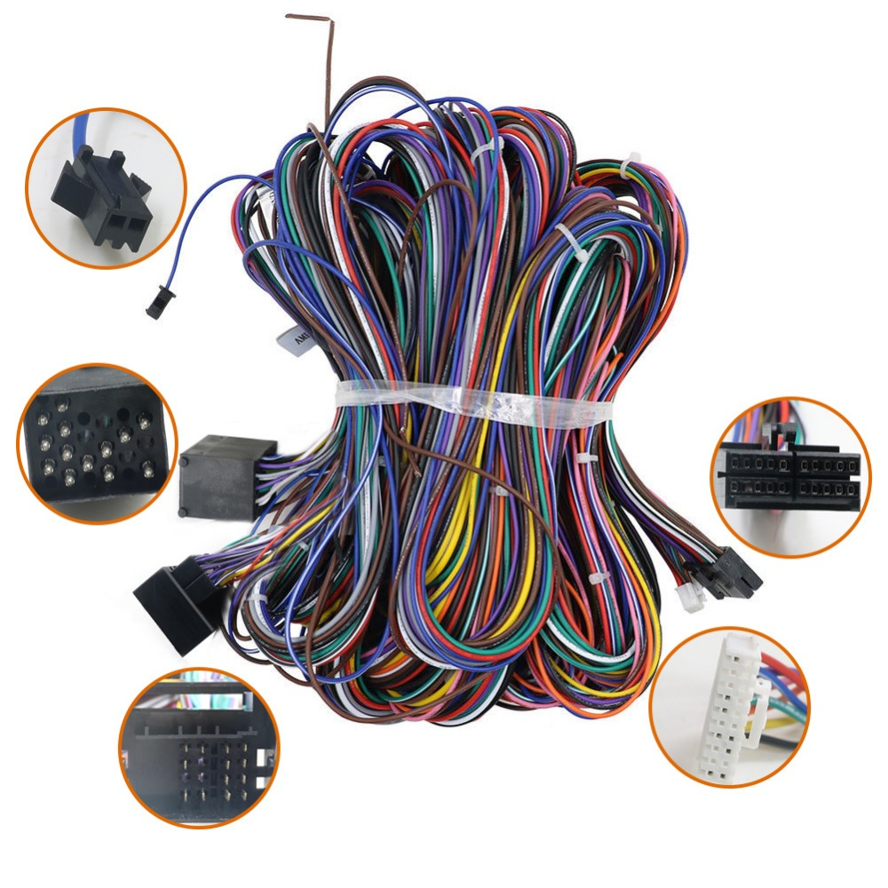 Closeout For BMW special power cable 6M car dvd 2din 541cbbdf5eb4