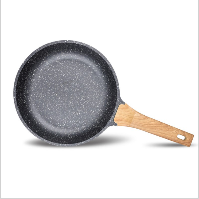 German Maifan Non stick Pan Without Oil Fume Wok With Coated Frying Pan Induction Cooker Universal Kitchen Supplies in Pans from Home Garden