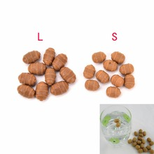S L 10Pcs Soft Fishing Floating Tiger Nut Pop up Artificial Bait Lures Carp Fishing Accessories