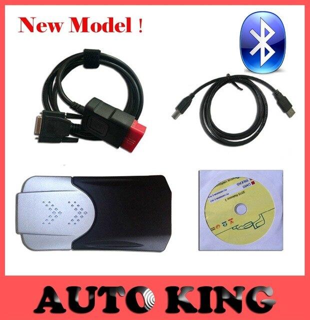 Последние 2015. R3 Программное Обеспечение DVD! новая модель мвд VCI TCS CDP С Bluetooth 3 in1 для Легковых и Грузовых Автомобилей obd2 obd scan диагностические инструменты