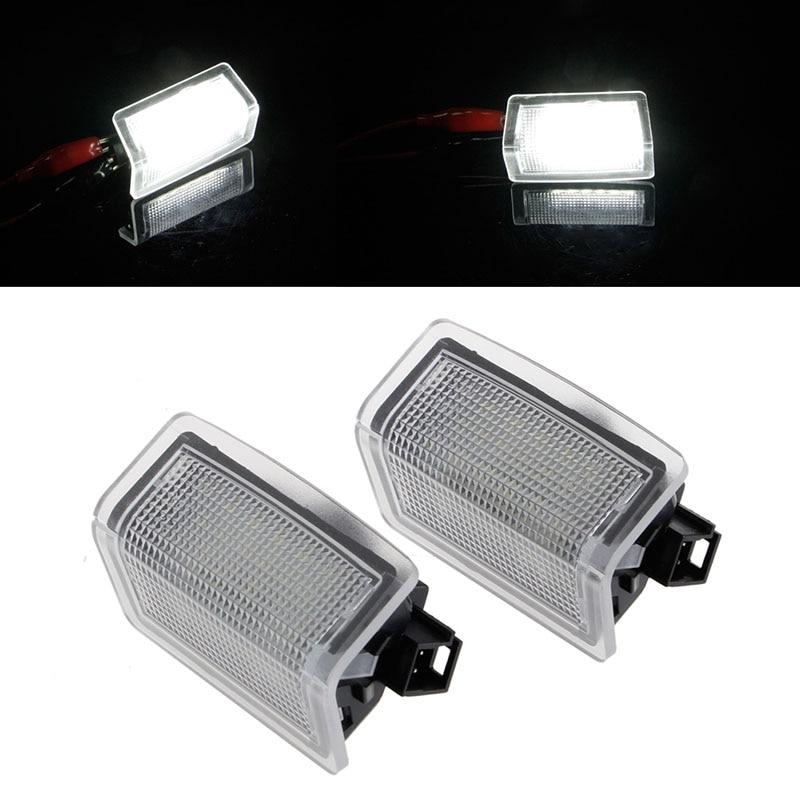 2x White 18 LED Error Free Door courtesy Light For Mercedes-Benz W176 W246 W204 Canbus Car Lamp No Error