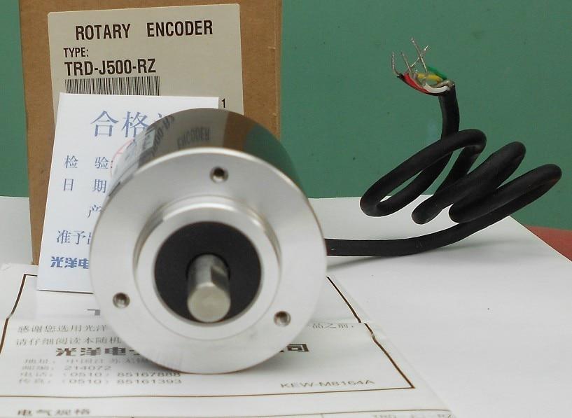 Freeship Koyo encoder TRD-J500-RZ Compact generic incremental rotary encoder TRD-J500RZ 1-year warranty rjs incremental encoder rotary encoder sf68 15 1024bzm 05lc