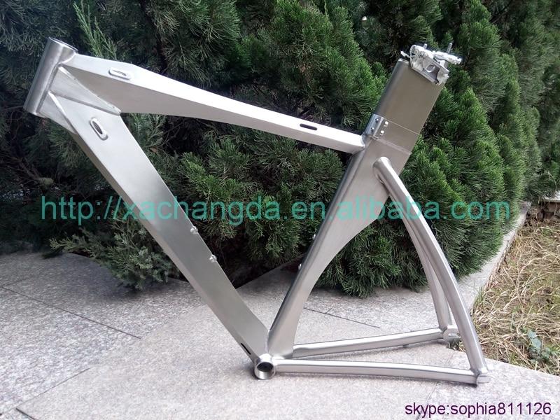 Custom Titanium Bike-Frame Trial China Cheap Blade 700C