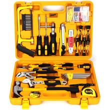 цена на Multi-purpose combination tool set Household toolbox hardware tool set 53-piece tool set