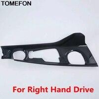 Tomefon for toyota C-HR chr 2016 2017 2018 lhd rhd 기어 쉬프터 패널 컨트롤 프레임 커버 트림 스타일링 인테리어 액세서리 abs