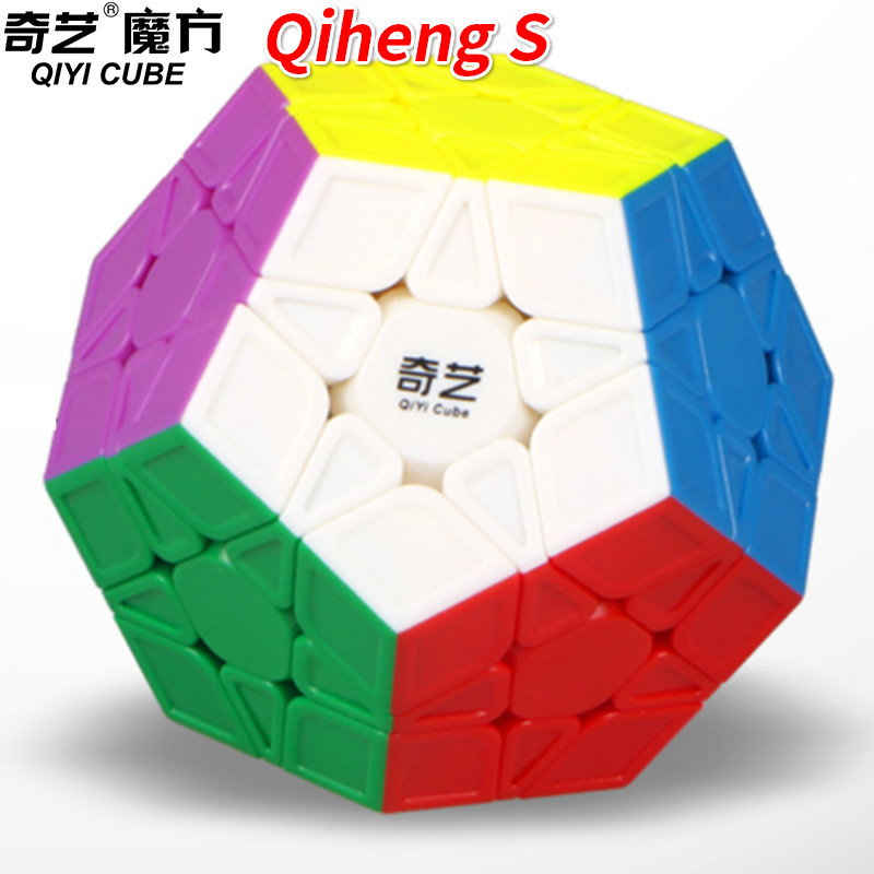 Qiyi Qiheng Megaminxeds Magico Cubo Wumofang Stickerless Speed 12 Sides Puzzle Cubo Magico Educational Toys For Children