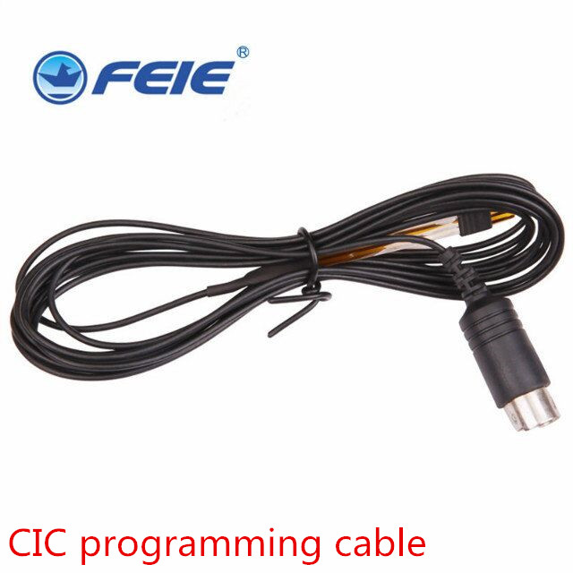 FEIE Hearing aid cables Hearing Aid Accessories Programming wire used for digital CIC bte ric hearing aid programmer connection feie hearing aid s 10b affordable cheap mini aparelho auditivo digital for mild to moderate hearing loss free shipping