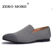 ZERO MORE Slip On Shoes Men Gray 2019 Mens