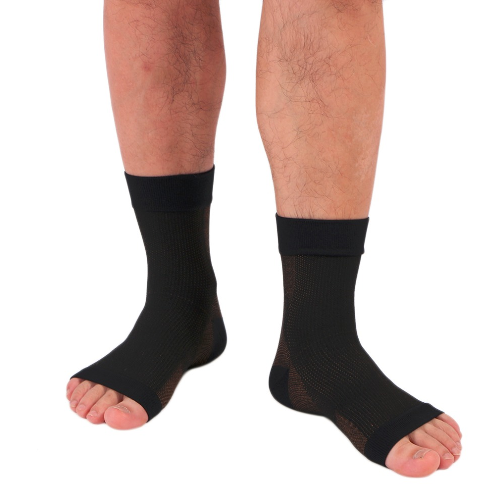 Sport Foot Angle Anti-Fatigue Compression Foot Sleeve Unisex Exercise Running Basketball Anti-Fatigue Sock Top Quality