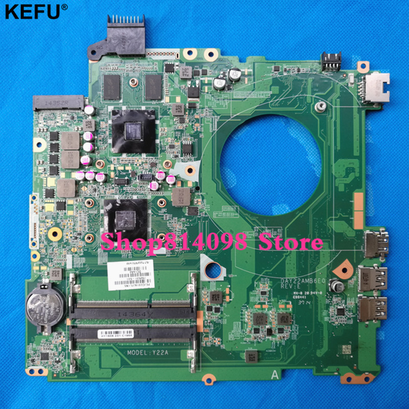 KEFU 762532-501 762532-001 FOR HP PAVILION 15-P series laptop motherboard DAY22A