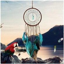купить Handmade Dream Catcher Feathers Decoration For Car Wall Hanging Room Home Decor дешево