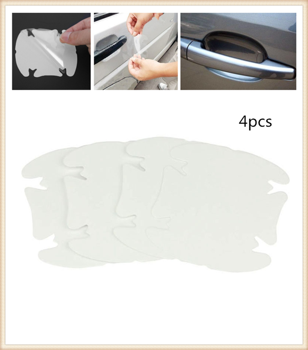 Car shape door handle protective film handle transparent stickers for <font><b>Mercedes</b></font> Benz A-Class X-Class S65 S63 S600 S560e <font><b>A180</b></font> image