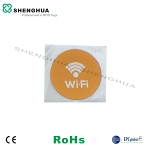 6pcs/pack Free Shipment NFC Passive RFID Smart Tag Sticker Universal Logo Printed ISO 14443a Label RFID Key Tags For Smart Phone