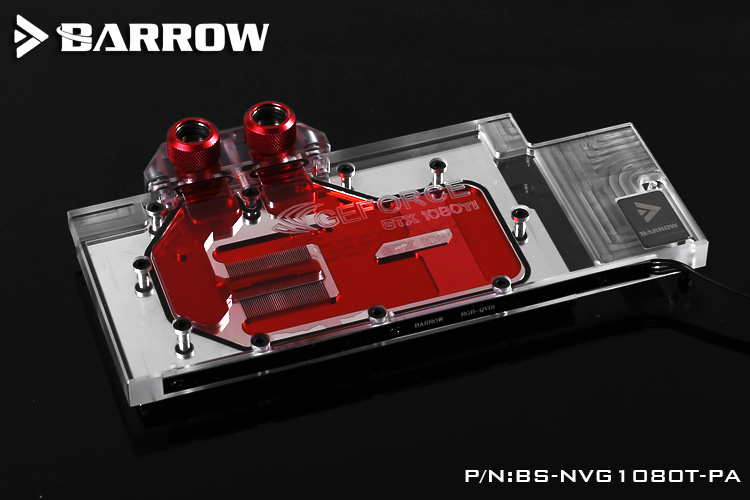 Image 2 - Barrow BS NVG1080T PA LRC RGB v1/v2 Full Cover Graphics Card Water Cooling Block for Founder ver.1080Ti/Titan/1070Ti/1060-in Fans & Cooling from Computer & Office