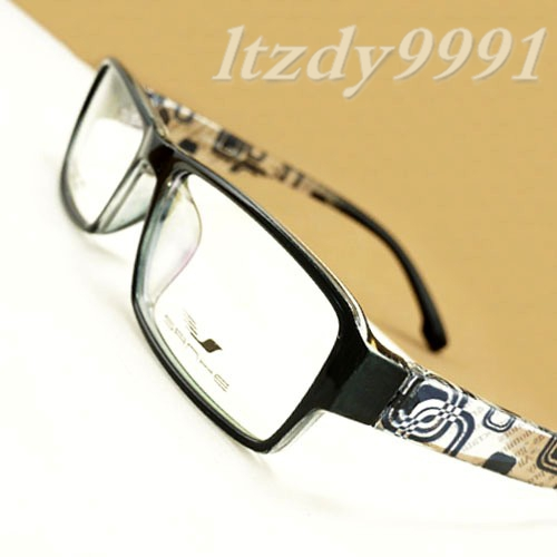 Black TR-90 Ultra Light Flexible <font><b>XL</b></font> Rectangular Optical Prescription EYEGLASSES FRAMES Men <font><b>Glasses</b></font> RX SH24066 Eyesglass