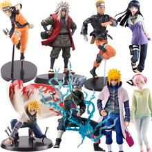 Naruto Shippuden Figure Figuarts Zero Uzumaki Uchiha Sasuke Haruno Sakura Hinata Hyuga Hatake Kakashi Minato Jiraiya Figure Toys