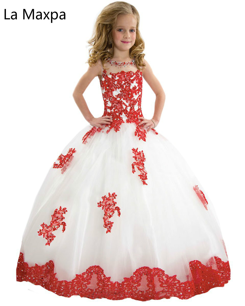 New Fashion Lace Girls Birthday Party Princess Dress Performance Girls Long Dress Children Ball Gown Dress music note party swing dress