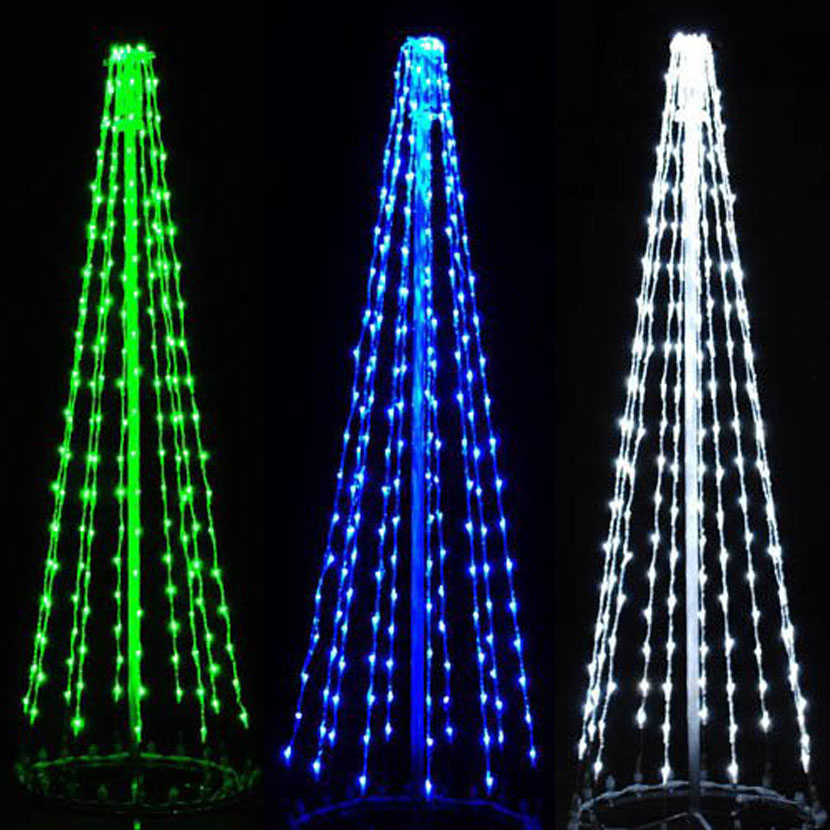 1 Meters 3400LEDS blue led christmas tree lights of blue led tree for hotel or bar decorations худи print bar decorate tree