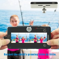 SVPRO White Micro USB Cable HD Mobile Phone Recording External VR 3D Video Camera With Free