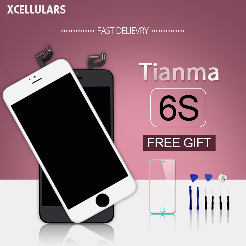 10pcs lot Tianma quality Touch Screen Digitizer Assembly For iPhone 6s LCD Display Replacement Frame Smart