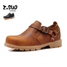 Real Leather Men Casual Walking Shoes For Men's Brand Designers Vintage British Stylish Leisure Sneakers Comfortable 2016 Flats