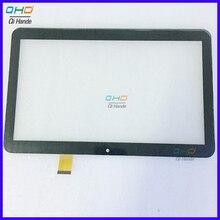 Nowy 10.1 cal dotykowy dla Irbis TZ150 3G lub TZ165 tz 165 Irbis TZ165 3G Tablet ekran dotykowy panel dotykowy w połowie digitizer czujnik