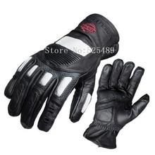 Gants moto Марка Углеродного Волокна Натуральной Кожи Перчатки Мотоцикла Открытый Мотокроссу внедорожные Защитные Перчатки guantes moto